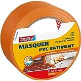 Tesa 55443-00000-00 Masquer PVC Bâtiment 33 m x 50 mm