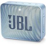 JBL GO 2 Portable Bluetooth Speaker, Ice Cube Cyan JBLGO2CYAN, 4.3 x 4.5 x 1.5