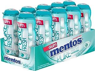 Mentos Gum Pocket Bottle, Wintergreen, 1.06 Ounce (Pack of 10)