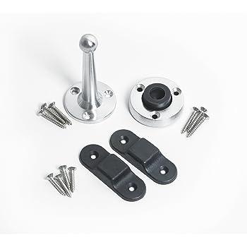 X2 Bi Fold Door Magnet//Magnetic Holder//Catch Bi-Folding Door Black 65mm