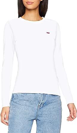 Levi's LS Baby Tee T-Shirt Donna