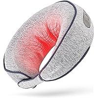 CONQUECO Massage à cervical et épaule Appareil de cou: Masseur Électrique Oreiller de Nuque sans fil avec Fonction de…