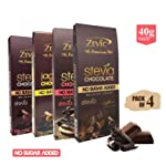 Zevic Chocolate Assortment, 40g (Pack of 4)