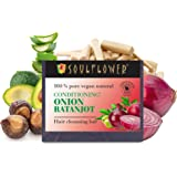Soulflower Conditioning Onion Ratanjot Hair Cleansing Bar, 150 g
