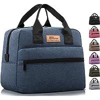 HOMESPON Sac Isotherme à Repas Grande Capacité Lunch Bag Portable en Tissu Imperméable Givré Sac à Main pour Femmes…