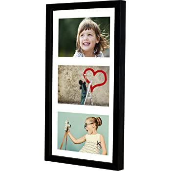 23 x 50 cm (9 x 20-Inch) - 3 Aperture Picture Photo Frame for 5 x 7 ...