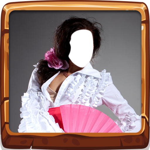 Flamenco-Kleid-Foto-Montage Flamenco-outfits