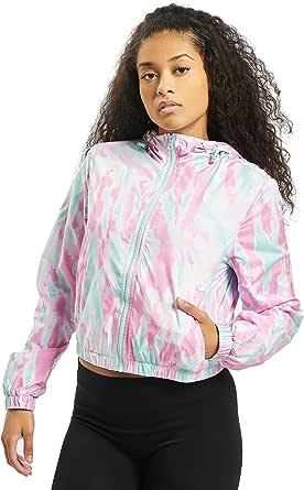 Urban Classics Jacke Ladies Tie Dye Windbreaker Giacca Donna
