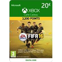 Xbox Live - Carte Cadeau de 20 EUR FIFA 16 Ultimate Team [Code Digital - Xbox Live]