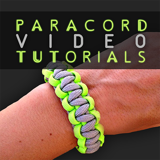 Paracord Video Tutorials - Top Paracord Instruction Video Guide (Knots, Collars, Slings, Clips, Bracelets, Etc.) -