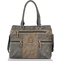 irisaa Handtasche Damen Shopper groß Schultertasche Multifunktionale Henkeltasche mit Abnehmbarem Schulterriemen…