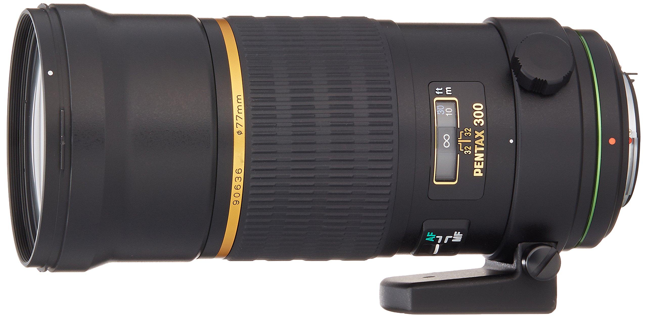 Pentax smc DA 300mm f/4.0 ED (IF) SDM Black - camera lenses (1.4 m, 5.4°, Metal, Black, 8.3 cm, 7.7