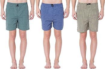 Sammy Men's Cotton Boxers (Pack of 3)