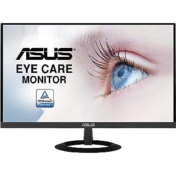 """Asus VZ279HE Eye Care Monitor 27"""", FHD (1920x1080), IPS, Design Sottile, Frameless, Flicker Free, Blue Light Filter, Nero"""