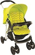 Graco Stroller Mirage Plus Lime Zigzag (Lime/Black)