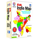 Ratna's Educational Jigsaw Puzzle Range for Kids (EVA India Map)