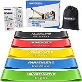 Panathletic Weerstandsbanden, Set van 5 Banden – 5 Verschillende Weerstandsniveau's, Handleiding met Oefeningen, eBook in het