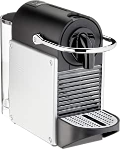 De'Longhi Nespresso EN 124.S Kapselmaschine Pixie Silber   1260 Watt   0,7 Liter   Seitenpanels aus recycelten Nespresso Kapseln