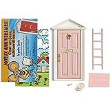 🐭 La petite souris: Porte Magique Rose + escalier + assiette + FROMAGE + paillasson + clef + Fond de porte de dessin + Carte