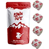 RoninTape® Bushido - Pack 4 Tape - Tape per Arrampicata, Bouldering, Ginnastica, Crossfit, BJJ, Jiujitsu - Restistente con Gr