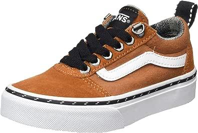 Vans Ward Suede/Canvas, Sneaker Bambino