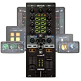 Reelop Mixtour - Controlador de DJ USB Portátil para iOs, Android, Mac y PC, Conexión de Auriculares de 3,5 mm ySalida Maestr