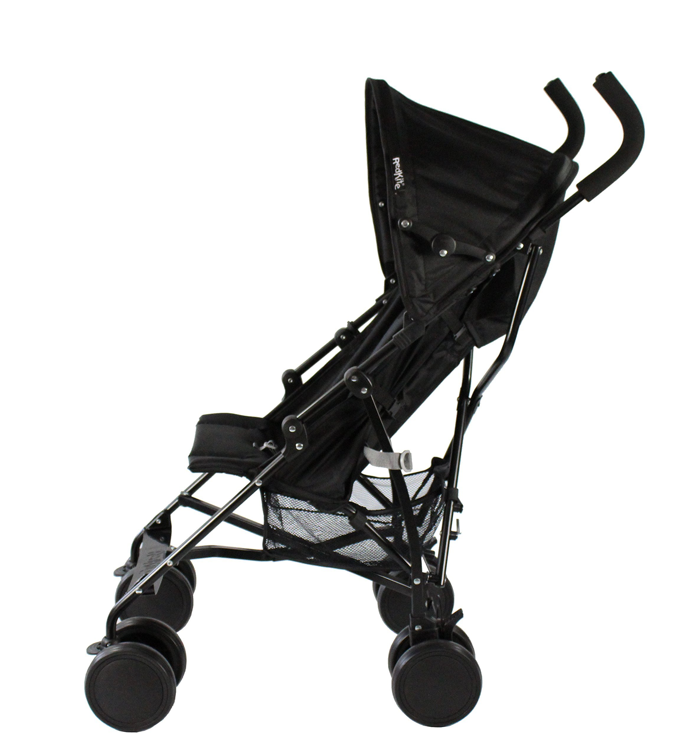 Red Kite Baby Push Me 2U (Midnight) Red Kite Baby Suitable from 6 months Includes shopping basket and raincover Lockable front swivel wheels. Detachable hood 5