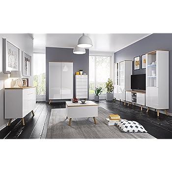 Moderne Wohnwand Anbauwand Schrankwand Milano Hängewand TV -Board ...