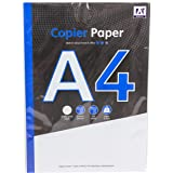 A4 Copier and Printer Paper - 100 Sheets, 80gsm Bright White Paper - Size 297mm x 210mm