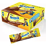 Nesquik Biscuits Chocolate Milk Cream, 28 gm (Pack of 12)