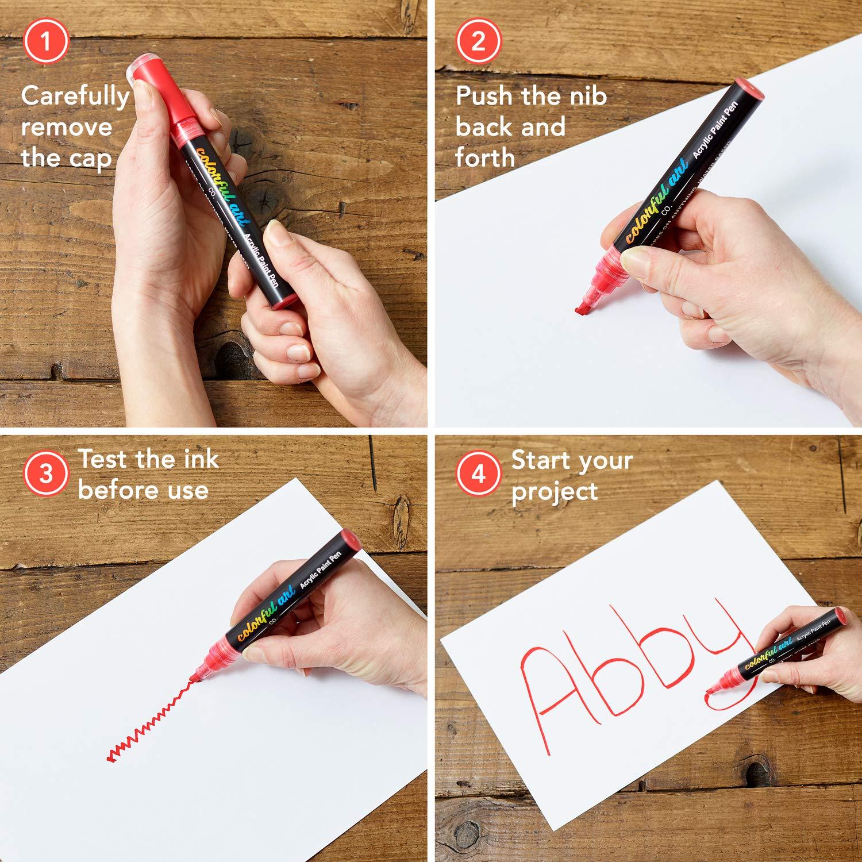 Paint Pens Premium Acrylic Paint Pens Rock Painting K