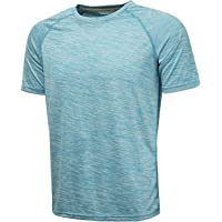 KomPrexx Herren Sport T Shirt Fitness Funktion Training Running Tennis Sportshirt Männer Funktionsshirt Kurzarm Trainingsshirt Laufshirt