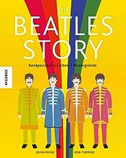 Die Beatles-Story: Bandgeschichte – Alben – Hintergründe in witzigen Illustrationen (John Lennon, Paul McCartney, Ringo Starr, George Harrison)