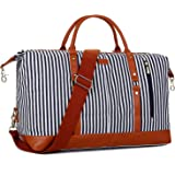 BAOSHA HB-14 Übergroße Canvas Reisetasche Frauen Damen Travel Duffel Bag Carry On Bags Segeltuch Handgepäck Weekender Tasche