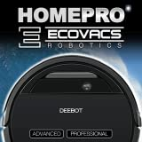 Ecovacs DEEBOT Control and Helper Robotic Vacuum