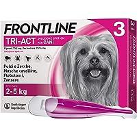 Frontline TriAct, Antipulci per cani, Antiparassitario Lunga durata, Protegge il cane da pulci, zecche, zanzare…