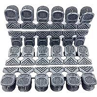Saha Fancy, MIRA Super Strong Grip Cloth Drying Pins/Pegs/Clip, Matt Black Color Premium Plastic Pegs Pack of(48) (72…