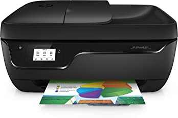 HP Officejet 3831 Multifunktionsdrucker (Instant Ink, Drucker, Kopierer, Scanner, Fax, WLAN, Airprint) mit 3 Probemonaten HP Instant Ink inklusive