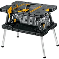 """JCB Tools Portable Workstation with Max Weight Holding Cap of 453 kgs. Complete with two 12"""" clamps, Folded: 850x550x112…"""