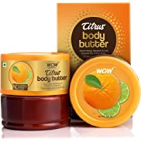 WOW Skin Science Citrus Butter for Refreshing, Nourishing & Brightening Skin - For All Skin Types - No Parabens…