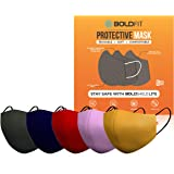 Boldfit Mask for face cotton for Men & Women reusable and washable (Pack of 5)