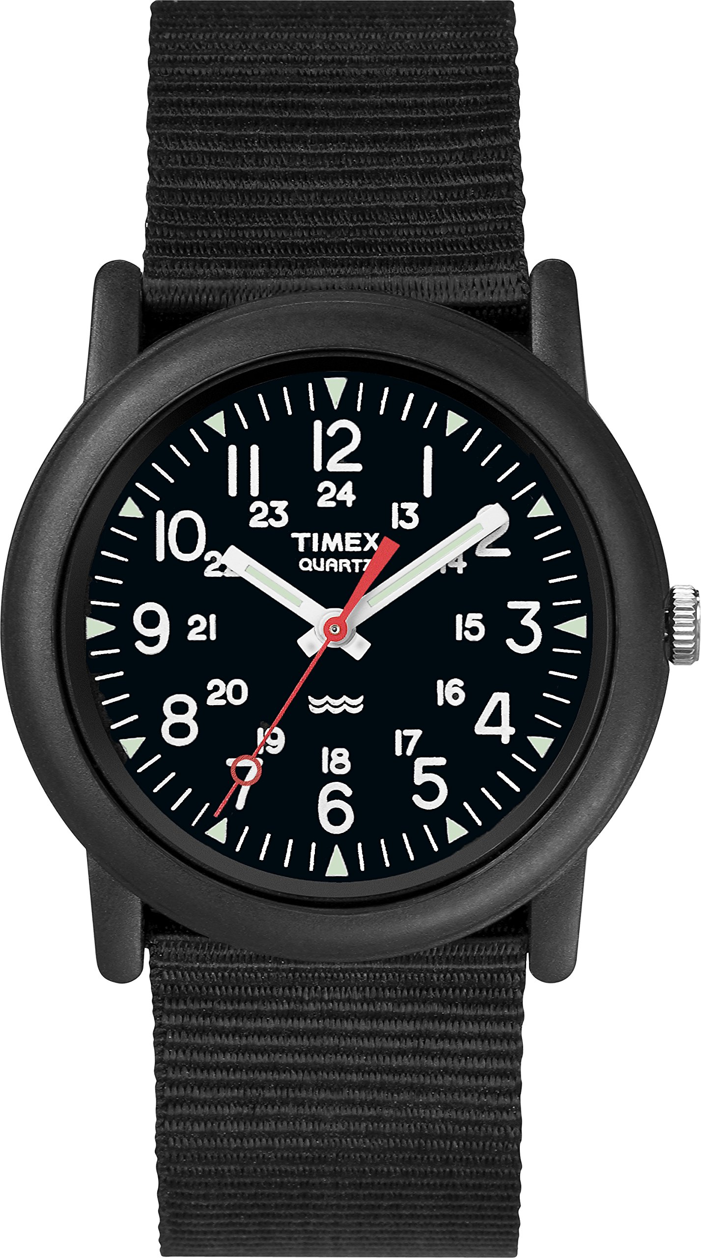 Timex Unisex Quartz Camper Watch with Dial Analogue Digital Display and Nylon Strap