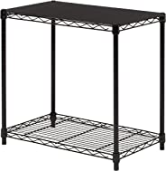 AmazonBasics 2-Tier Stackable Shelf