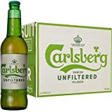Carlsberg Birra Unfiltered(non filtrata) - 20 bottiglie da 500 ml