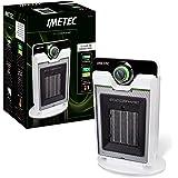 Imetec Eco Ceramic CFH1-100 Termoventilatore con Tecnologia Ceramica a Basso Consumo Energetico, Silenzioso, 3 Livelli di Tem