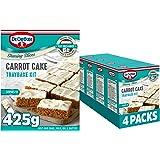 Dr. Oetker Carrot Cake Traybake Kit, 4 x 425g