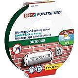 tesa Powerbond OUTDOOR, 5m x 19mm, groen