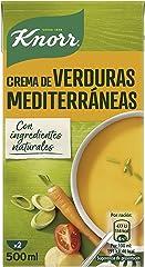Knorr Crema Verduras Mediterráneas, 0.5L