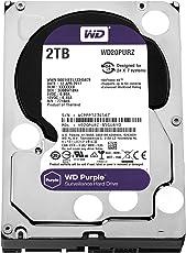 WD Purple 2TB SATA Internal Surveillance Hard Drive (WD20PURZ)