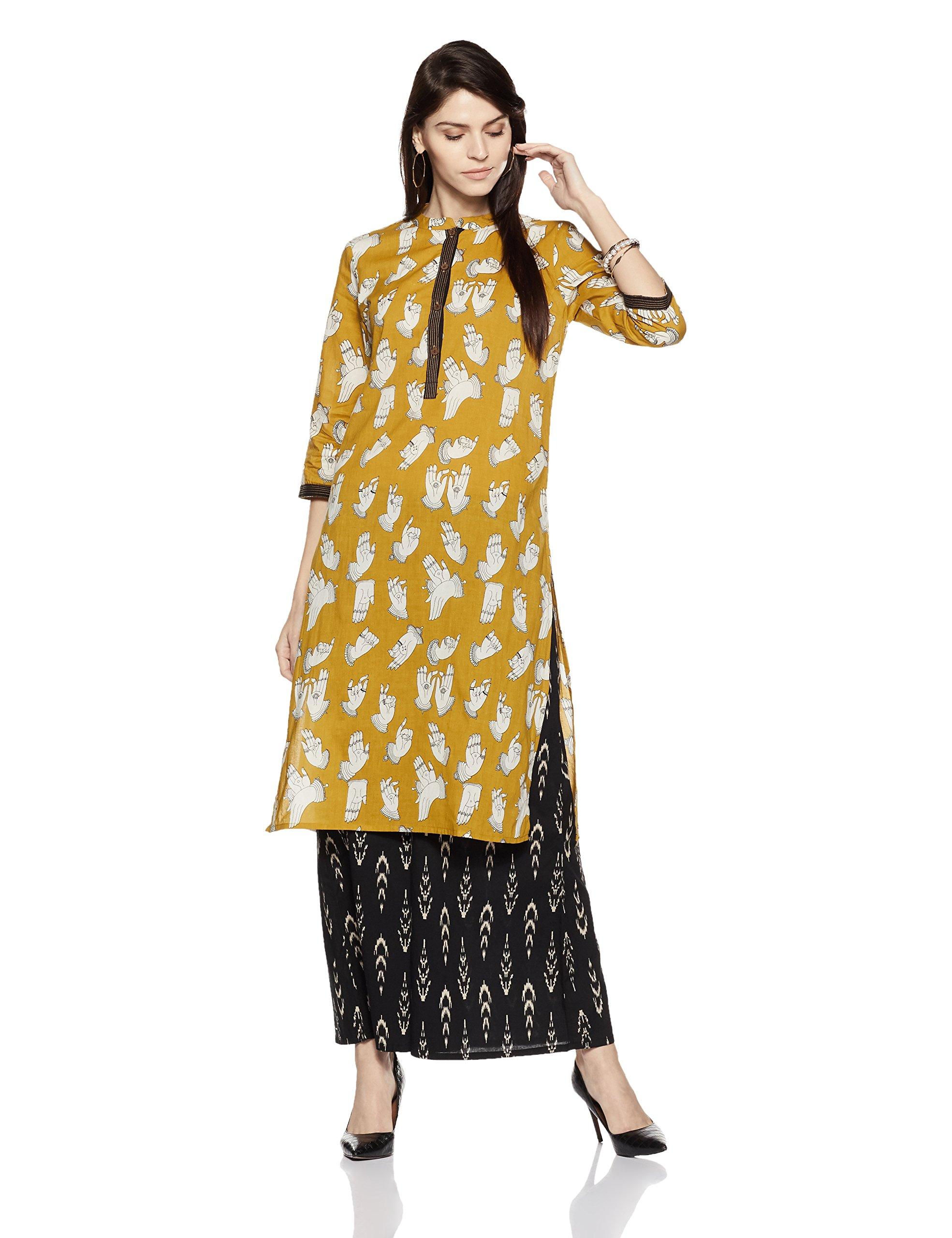 Amazon Brand- Myx Women's A-Line Kurta